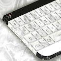 White Velvet Keyboard Theme icon