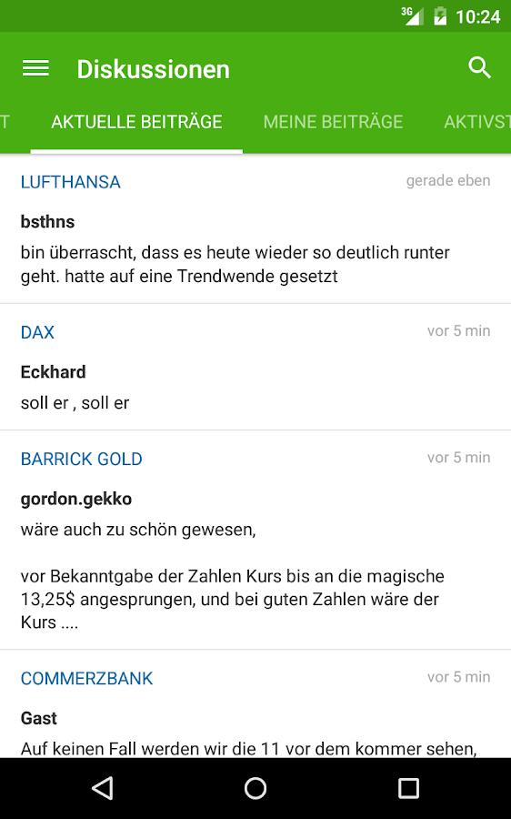 Börse & Aktien - BörsennewsApp- screenshot