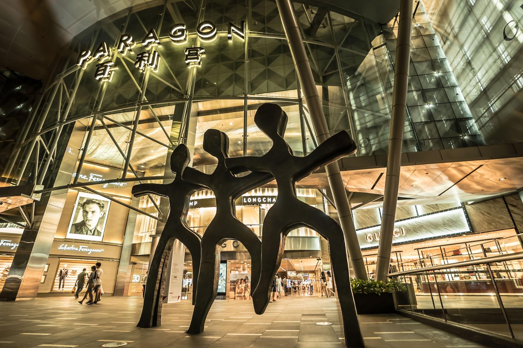 シンガポール Paragon2
