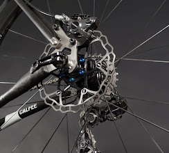 Photo: Calfee Manta Pro Disc Brake Thru Axle Dropout Detail