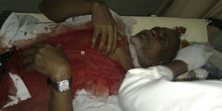Photo: Brutal crackdown on MDP peaceful demonstration on 8/2/2012