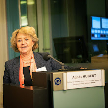 Photo: Agnes Hubert, College of Europe, former Adviser in the Bureau of European Policy Advisers