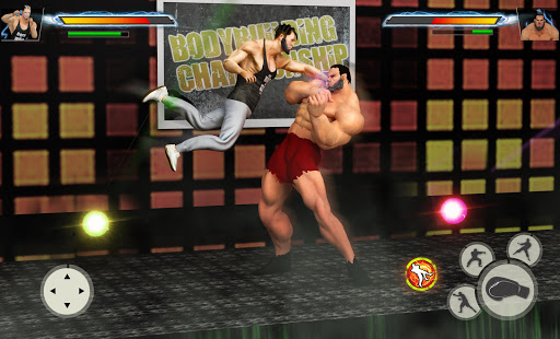 GYM Fighting Games: Bodybuilder Trainer Fight PRO apkmr screenshots 5