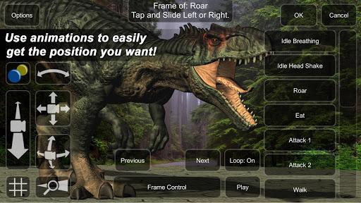 Allosaurus Mannequin 1.0 screenshots 2