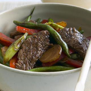 Stir-Fried Beef with Black Bean Sauce