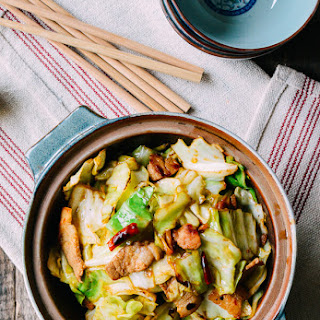 Chinese Shredded Cabbage Stir-Fry Recipe