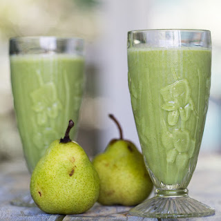 Ginger Pear Smoothie.