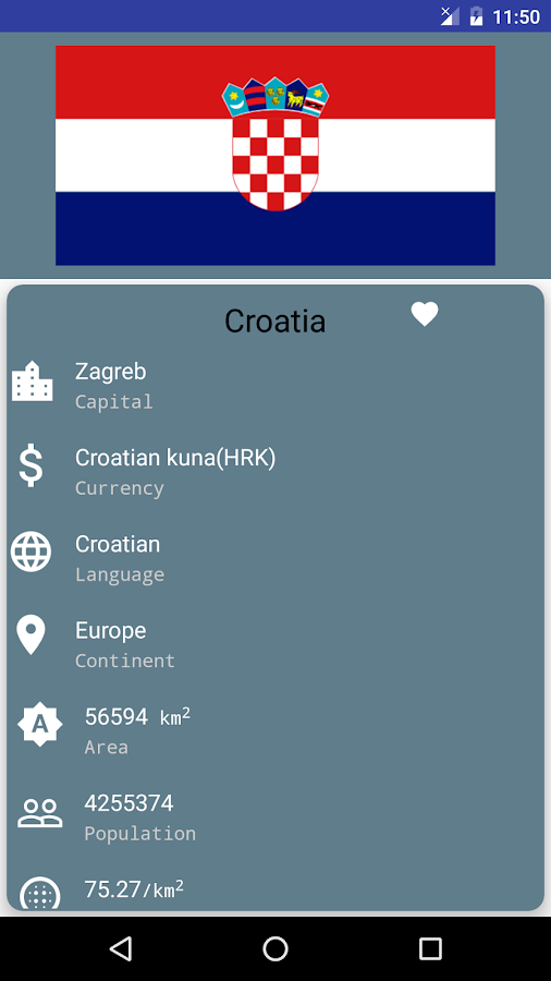 Country Capitals And Currency Android Apps On Google Play - List of countries in the world with their capitals