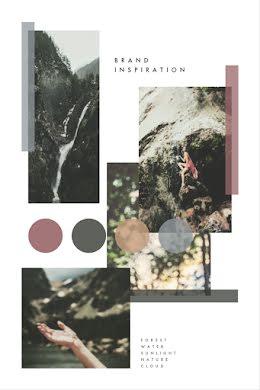 Natural Brand Inspiration - Brand Board item