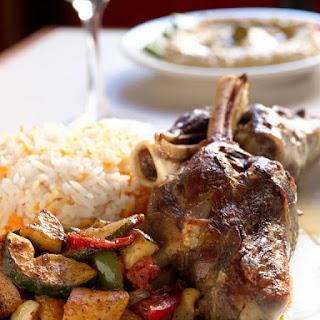 Braised Lamb Shanks with Gremolata