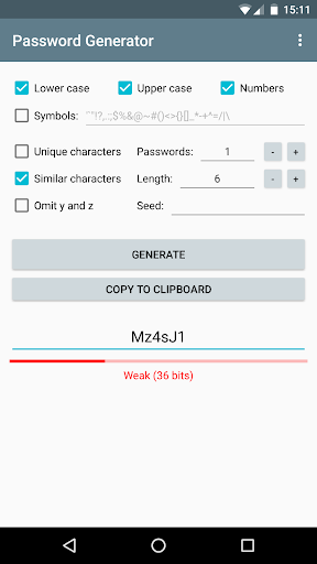 Password Generator 1.3.2 screenshots 4