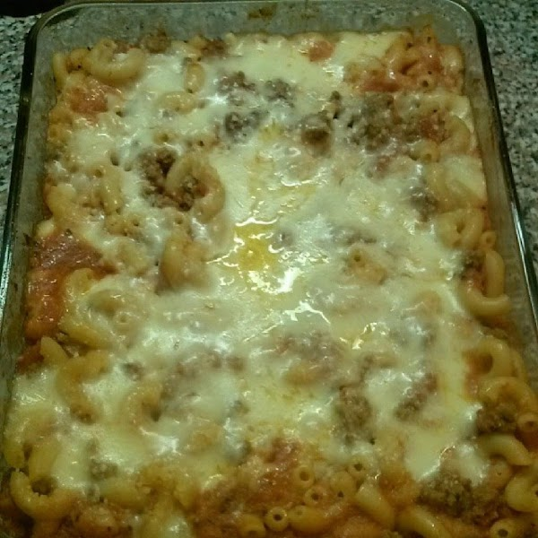 Alec's Macaroni Casserole Recipe