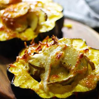 Jansson's Temptation with Acorn Squash | A Swedish potato gratin.