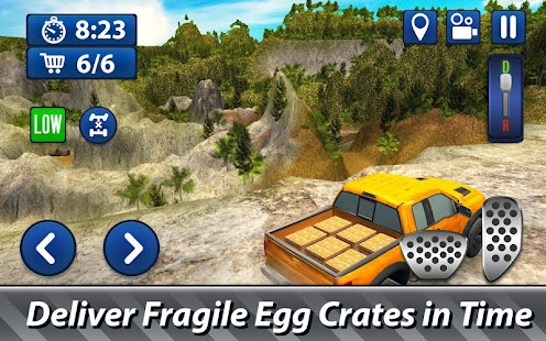 Offroad Delivery Simulator - transport eggs cargo! - náhled