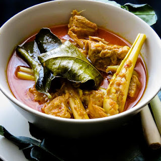 Thai inspired-Spicy tuna fish curry cooked in coconut milk..