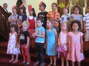 Photo: Christmas presentation with StMartini Kindergarten