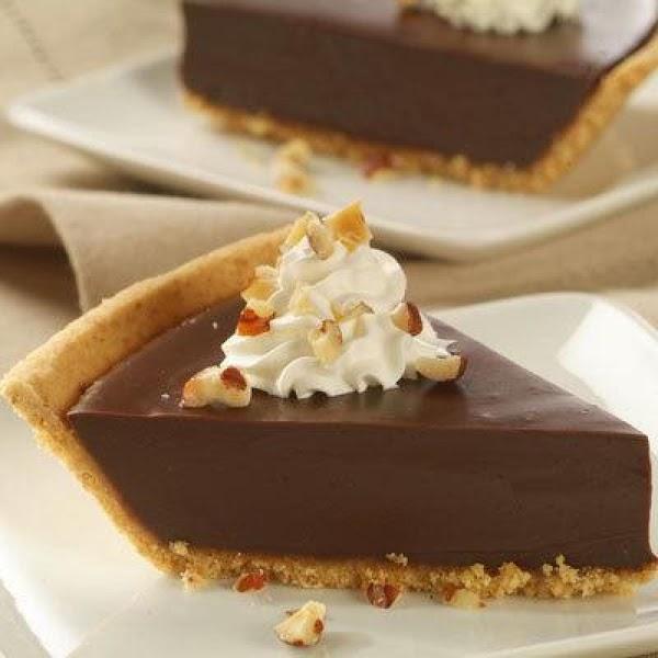 Chocolate Satin Pie Recipe