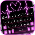 Pink RGB Heart Keyboard Theme icon
