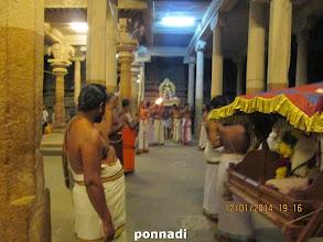 Photo: polindhu ninRa pirAn, bhUthathAzhwAr - evening puRappAdu
