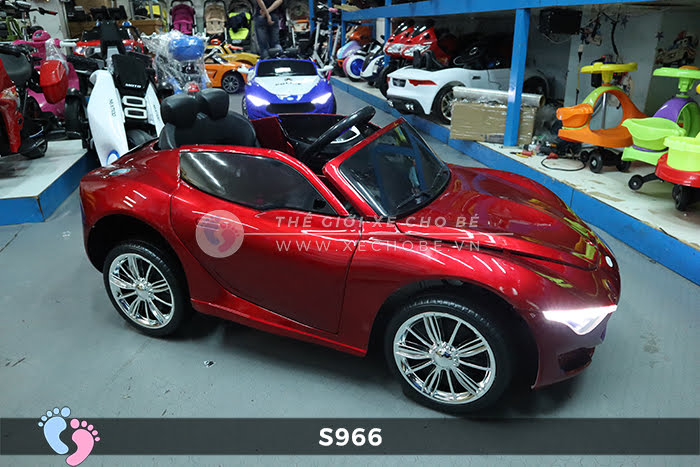 Xe ô tô điện cho bé Police XYS-966 8