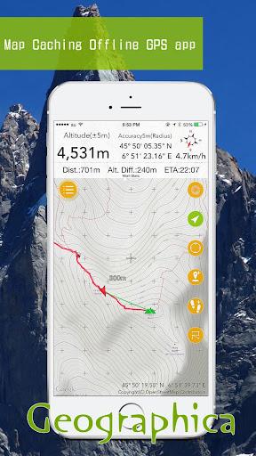 Geographica [Offline GPS APP] 1 3 24 Apk Download - jp keiziweb