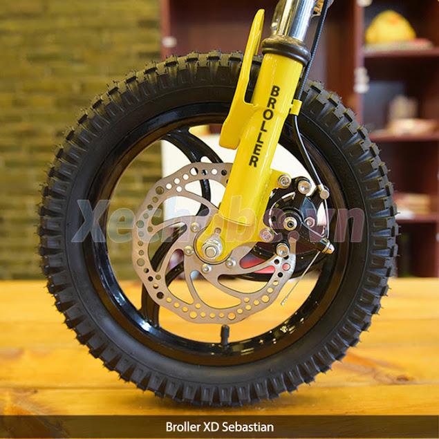 xe đạp bánh cao su cho trẻ em