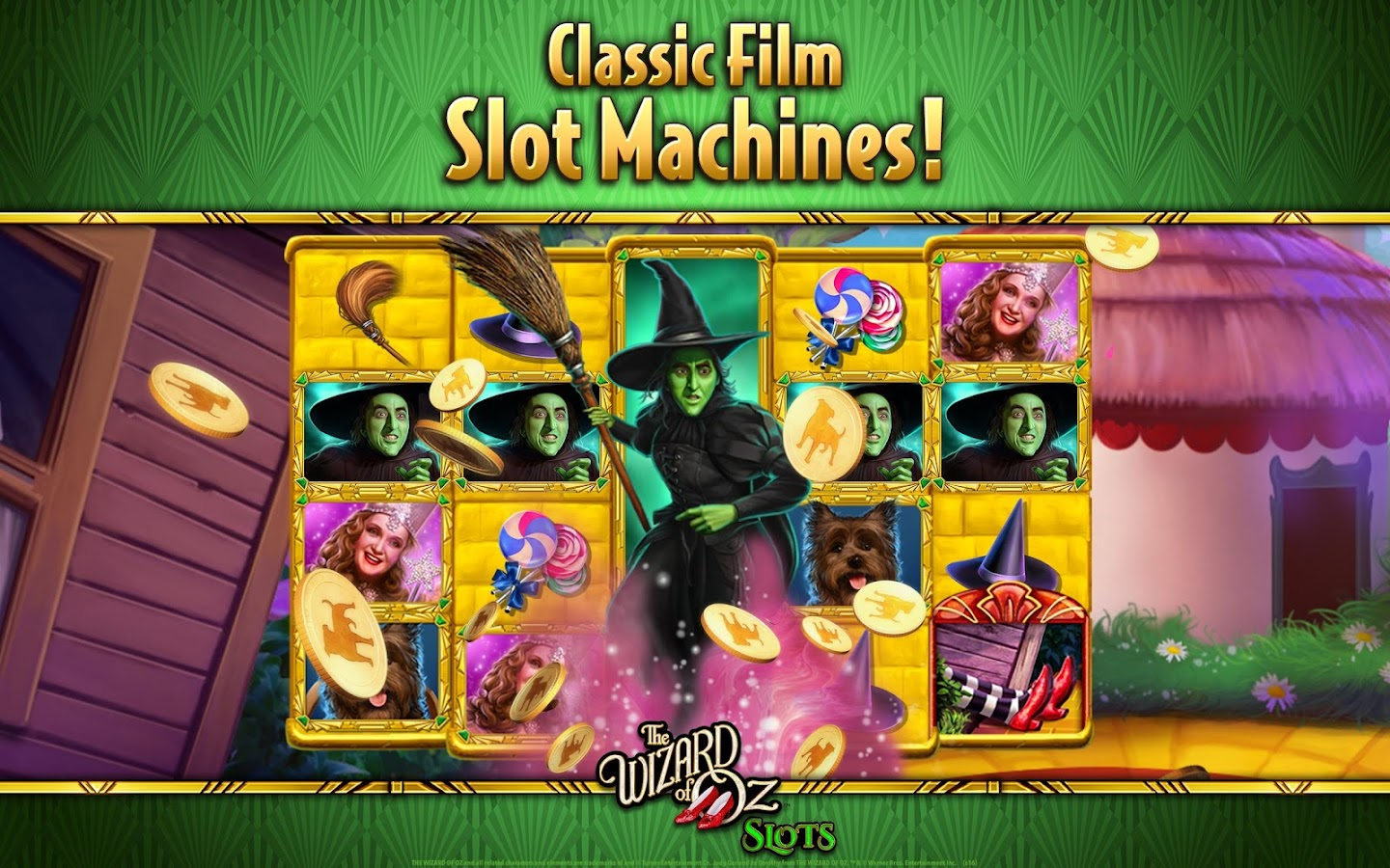 wizard of oz slots on google play