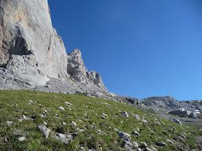 Photo: Llegando a la base del Naranjo