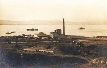 Photo: Alaybeydeki Tersanenin yerinde 1960'li yıllarda bu palamut fabrikası  vardı.