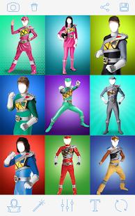 Rangers Costume Photo Montage 3
