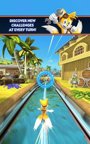 Sonic Dash 2: Sonic Boom - screenshot