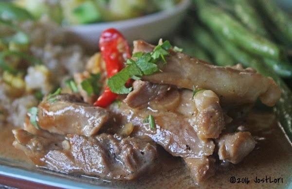 Chicken And Coconut Milk Adobo Recipe