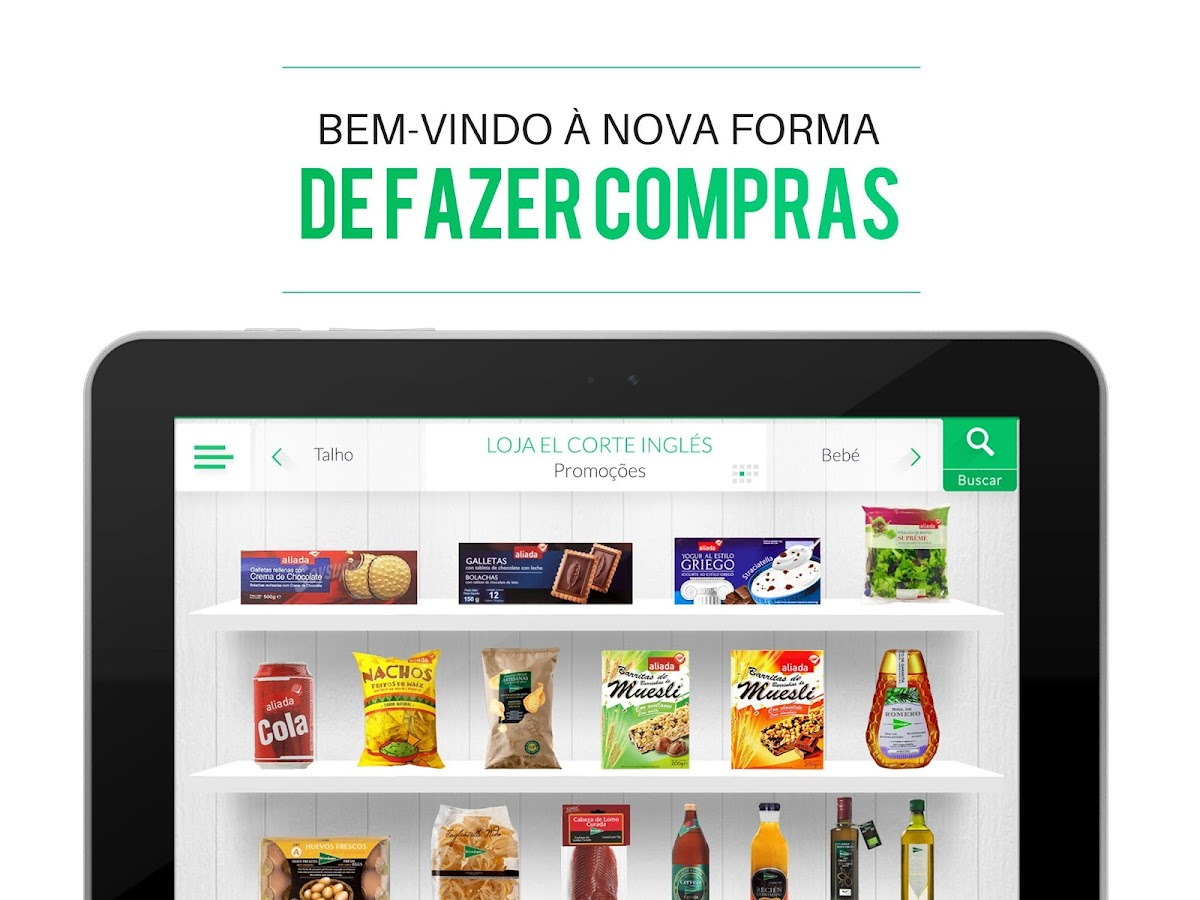 El Corte Inglés Supermercado- screenshot