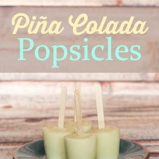 Piña Colada Popsicles