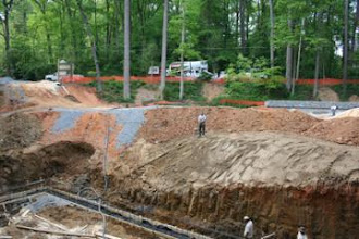 Photo: Site Work Single Family Home In Atlanta ,Ga.