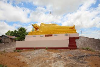 Photo: Laos Reisen, liegender Budha Kong Island