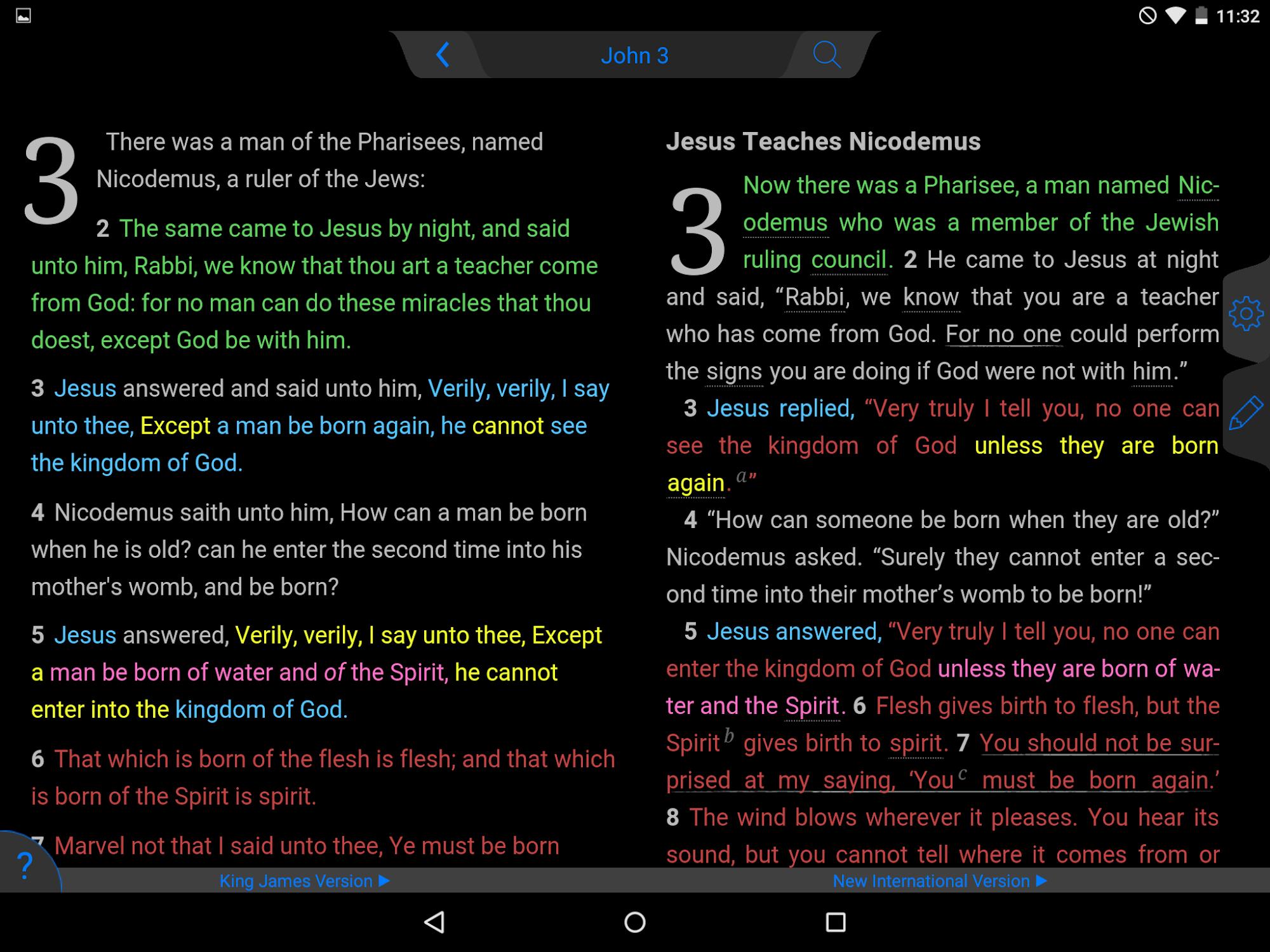 NLT Bible screenshot #13