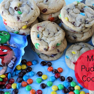 Mini M&M Pudding Cookies Recipe