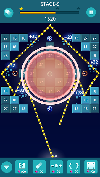 Bricks Balls Action - Brick Breaker Puzzle Game