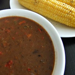 Black Bean Soup – #glutenfree #vegan