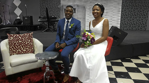 AmaZulu striker Rhulani Manzini and his wife Thina are members of Durban's Christian Revival Church congregation.