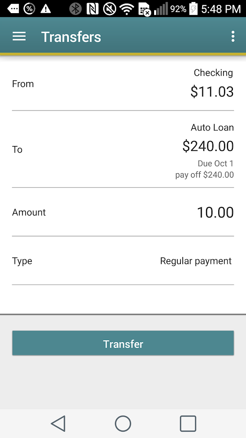 Pen Air FCU Mobile- screenshot