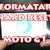 Moto G 1ª Geração Como Formatar, Resetar, Restaurar para Modo de Fábrica