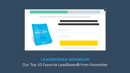 November 14 LeadBoxes Roundup