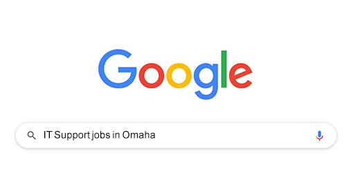 "Search ""work from home jobs"" on Google"