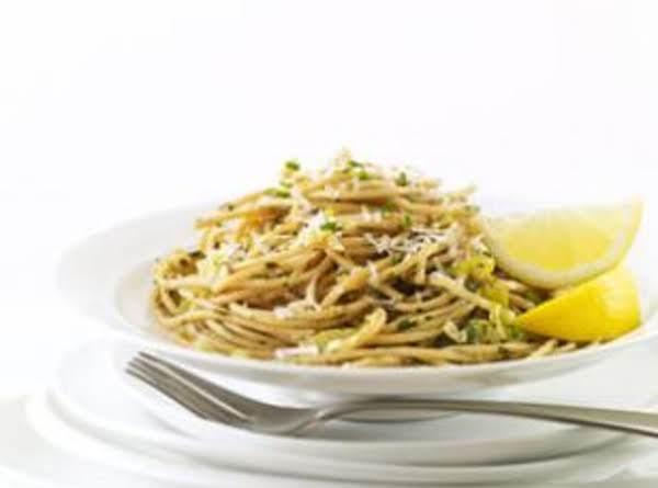Leek & Lemon Linguine Recipe
