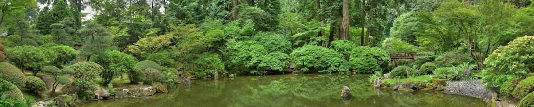 Photo: Portland Japanese Garden panoramic HDR