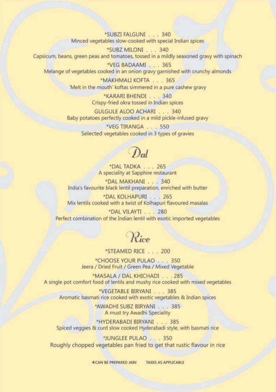 Sapphire menu 10