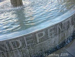 Photo: Grateful for this fountain and the water and being outdoors.
