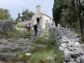 Photo: Kapelletje boven Hvar